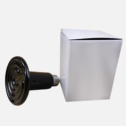 Wholesale Black Infrared Ceramic Emitter Heater V V w w w Size mm x mm Pet Heating Lamp for Pet Reptile
