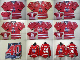 Wholesale Cheap Washington Alex Ovechkin John Carlson Brooks Laich etc Red Winter Classic th Capitals Nhl Ice Hockey Stitched Jerseys