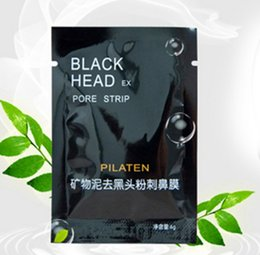 Wholesale PILATEN Suction Black Mask Face Facial Cleaning Tearing Pore Strip Deep Cleansing Nose Acne Blackhead Masks Remove Black Head g pc KB178