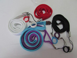 ego Necklace String with silicone Ring Neck Chain Lanyard for eGo,eGo-t,eGo-w,eGo-c Glass Globe Atomizer Electronic Cigarette wax vaporizer