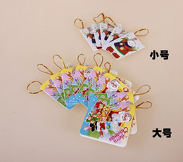 Wholesale Cards For Wishing Tree - Colorful Printing Christmas Gift Paper Card and Happy New Year Wish Card for Christmas Tree Decorations Assorted Styles for Wholesale