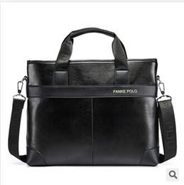 PU Leather Men HandbagsFamous Brand Business Shoulder Bag handbags men's messenger bags Briefcase TOP564