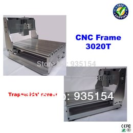 Wholesale Freeshipping CNC router DIY CNC frame with trapezoidal screw for small engraving machine milling machine