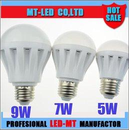 Vente chaude CE ROHS UL a mené 3w 5W 7W 9W 12W 5730 SMD Globe de LED Bulle Lumières ampoule 110V 220v 230v Ampoules d'éclairage Blanc chaud Refroidissez le projecteur blanc à partir de e27 ce smd fabricateur