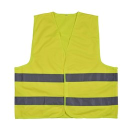 Wholesale NEWS hot selling high visibility yellow safety reflective jackets