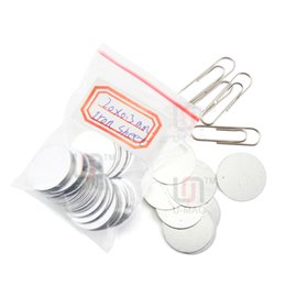 Free shipping 800pcs Disc.8x0.3mm iron sheet special packing box accessories high quality