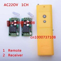 Wholesale AC V A RF CH ak controle remote mhz wireless remote control long range china