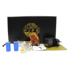 E-pipe 618 Health Smoking Pipe Electronic Cigarette Kits Old-fashioned Smoking Pipe Style E pipe E Cigarette