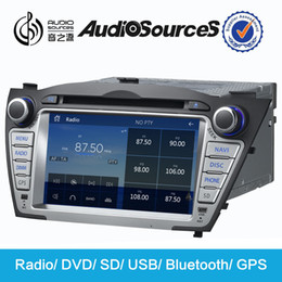 Wholesale car dvd hyundai ix35 navigation dvd built in Bluetooth module built in CANBUS support Lossless audio and P media