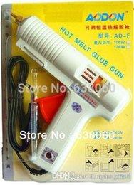 Wholesale 100W W adjustable constant temperature High quality hot melt glue gun Graft Repair Heat Ggun Pneumatic Tools