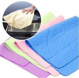 Wholesale Compressed PVA Chamois Magic Towel Car Auto Care Clean Towel Cloth PVA Polishing Cleaning Towel