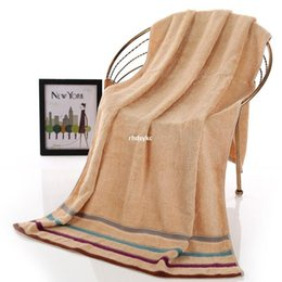 Wholesale Factory outlets genuine bamboo fiber antibacterial gift gifts green bamboo four color bar adult bath towel