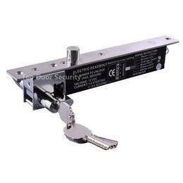 Key Bolt Lock Deadbolt Lock with Keys DC12V Access Control Lock Fail Secure NO Electric + Manually To Open