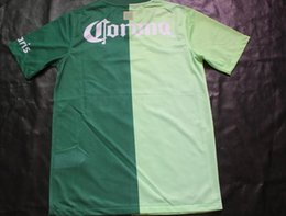 Wholesale Mexican League Club Atlas Camiseta Verde Soccer Jersey Thai Quality Soccer Jersery Tops Football Shirts