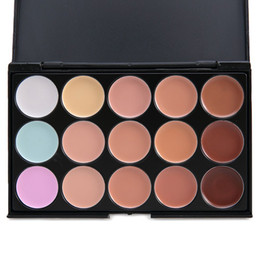 Professional Concealer Palette 15 Color Concealer Facial Face Cream Care Camouflage Makeup base Palettes Cosmetic 1439319
