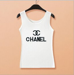 Wholesale 2015 Summer Women Tanks Tops Big Girl Letters Embroidered Tops Women Tees Lady Camis Vest Tops Black White AF48C
