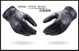 Wholesale-women and Men Winter cycling Motorcycle Gloves winter warm ski glove Leather gloves free shipping