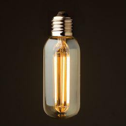 Wholesale Vintage LED Long Filament Bulb Light W K T45 Edison Classic Style V VAC Retro LED Lamp UL Certification Dimmable