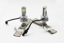 Wholesale 2015 New A SET W LM CREE H4 LED Headlight Kit LED LAMP Car Driving Lamp Bulbs K White H4 FOR WD X4