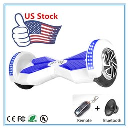 Wholesale Scooter Stock in USA Unicycle Smart Balance Wheel inch Self Balancing Electric Scooter Two Wheels Bicycle mAh Battery Smart Scooter