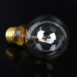 Wholesale Vintage Retro Edison Antique E27 Screw Spiral Star Tungsten Filament Light Decor Artistical Bulb A19