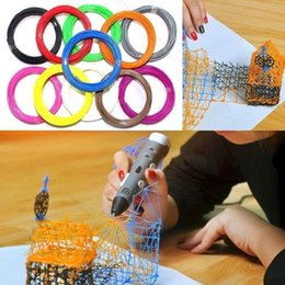 Wholesale 10Pcs D Printer Filament ABS mm for d printing Modeling Drawing Printer Pen Random Colors
