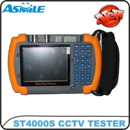 "Wholesale Cctv Tester Dhl - 3.5"" multiple protocols supported cctv tester monitor ST4000S DHL free shipping"