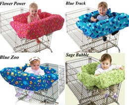 Wholesale New Baby kid toddler child infant boy girl children shopping cart cover trolley cart cover shopping trolley seat cover cushion pad mat