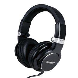 Wholesale Takstar HD HD5500 DJ Monitor Headphone Audio Monitoring For DJ studio monitoring degree swivel ear cup HD