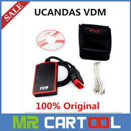 Wholesale 2015 Original UCANDAS VDM Update Online Latest V3 Better Than CDP Car Diagnostic Tool with year Warranty DHL FEDEX