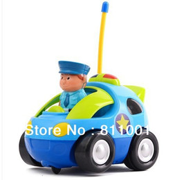 Wholesale New Toys Authentic Children s Cartoon Remote Control Car Race Car Baby Toys Music Automotive Radio Control Cars