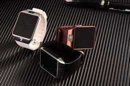 Wholesale Best price inch Bluetooth Smart watchs DZ09 SIM Phone Call Write Watch Pedometer Camera for iPhone Plus S Samsung S6