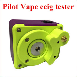 Wholesale Pilot Vape Top quality Coil master tab Super Ecig Tester Tab Ohm meter Multi functional Mod for RDA Coil Rebuilding Device in stock