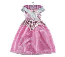 Kids Girls Sleeping Beauty Princess Dress Cosplay Costumes Wear Perform Clothes Dresses,Wedding Party Dress