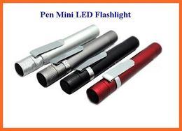10pcs MXDL Portable Pocket Flashlight 100 Lumen By 1*AAA Battery Waterproof Hiking Camping Fishing MIni Pen LED Flashlight Torch