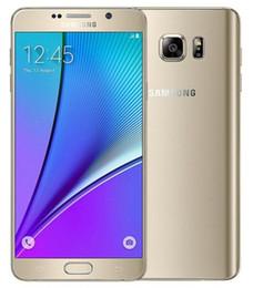 Refurbished Original Samsung Galaxy Note 5 N920A N920T N920P N920V N920F Unlocked Phone Octa Core 4GB 32GB 5.7 Inch 2560 x 1440