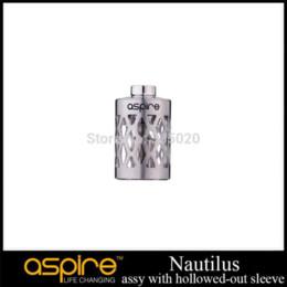 Promotion des tubes métalliques creux Original Aspire Nautilus Assy avec manchon creux en acier inoxydable Tube en acier inoxydable pour Nautilus Clearomizer industrie des tubes en acier