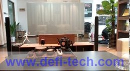 Wholesale BEST PRICE High resolution adhesive rear projector film d gray projection screen roll m m