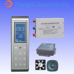 Wholesale 3KW Steam Generator Sauna Bath Home SPA Shower W FM Radio MP3 Player