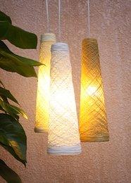 Wholesale Pendant Lights Vibia Wind Design By Jordi Vilardell Rattan Lamp Handmade Pendant Light Cafe Restaurant Clothing Store Decorative Chandelier