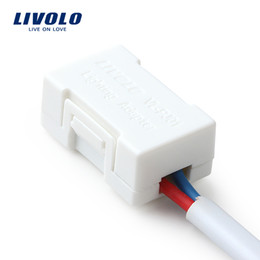 Wholesale Livolo Lighting Adapter EU Standard The Saviour Of The Low wattage LED Lamp White Plastic Materials VL PJ01