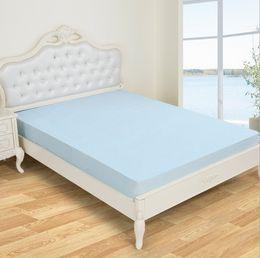 Colchones de colchón en Línea-colchón hipoalergénico mayor-acolchados de bambú almohadilla de fibra de TPU de protección a prueba de agua cama de colchón cubierta del protector