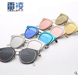 Wholesale-COMPOSIT 1.0 Mirrored Coating Lenses Women Sunglasses CD Futuristic Christian Designer Female Glasses Oculos De Sol Fashion