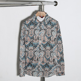 2016 New Men Floral Shirts M-5XL Fashion Casual Slim Fit Camisas Business Dress Floral Print Homme Shirts