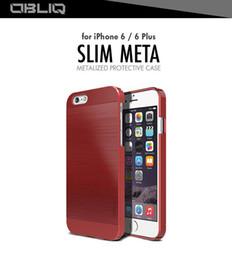 Wholesale Korea Brand Case For iPhone6 Slim Meta Series Case OBLIQ Case Back Cover Hard PC Shell For iPhone 6 6S Plus
