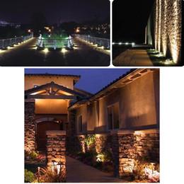 Wholesale 8W V AC IP65 Aluminum LED Lawn Spotlight Lamp High Power RGB Shock proof anti corrosion Hi tech COB Epistar LED chip