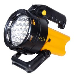 19 LED super bright Rechargeable LED Work Light Torch 1 Million Candle Power Spotlight Hand Lamp