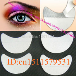 Wholesale pair disposable eyeshadow shields pad for perfect eye makeup application beauty eye Shadow Shields