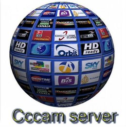 Wholesale CCCAM for year validity Support Sky Germany Sky UK SKY it SD ect for any satellite receiver support CCCAM Cline account
