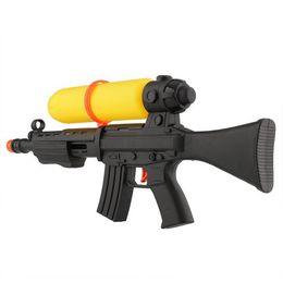 Wholesale Summer Air Pressure Gun Water Squirt Toy Yellow Black Beach Party Game Kids dandys
